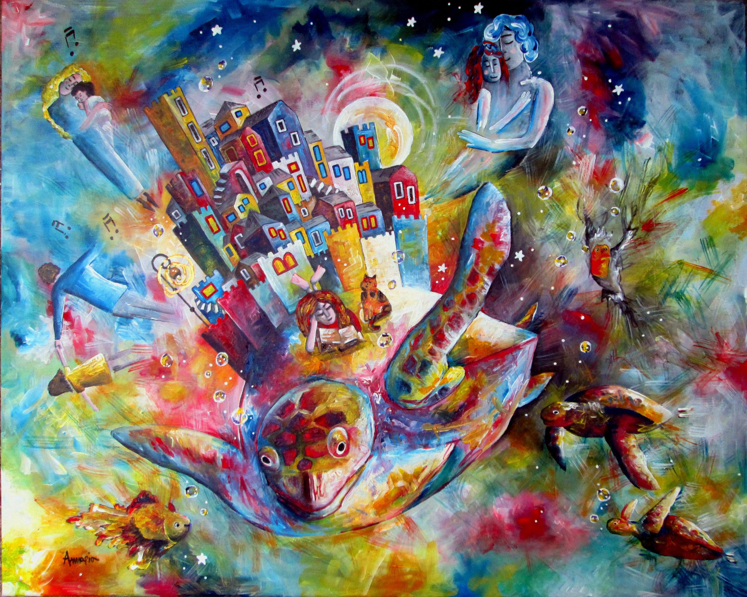 tableau surréaliste onirique poétique Chagall