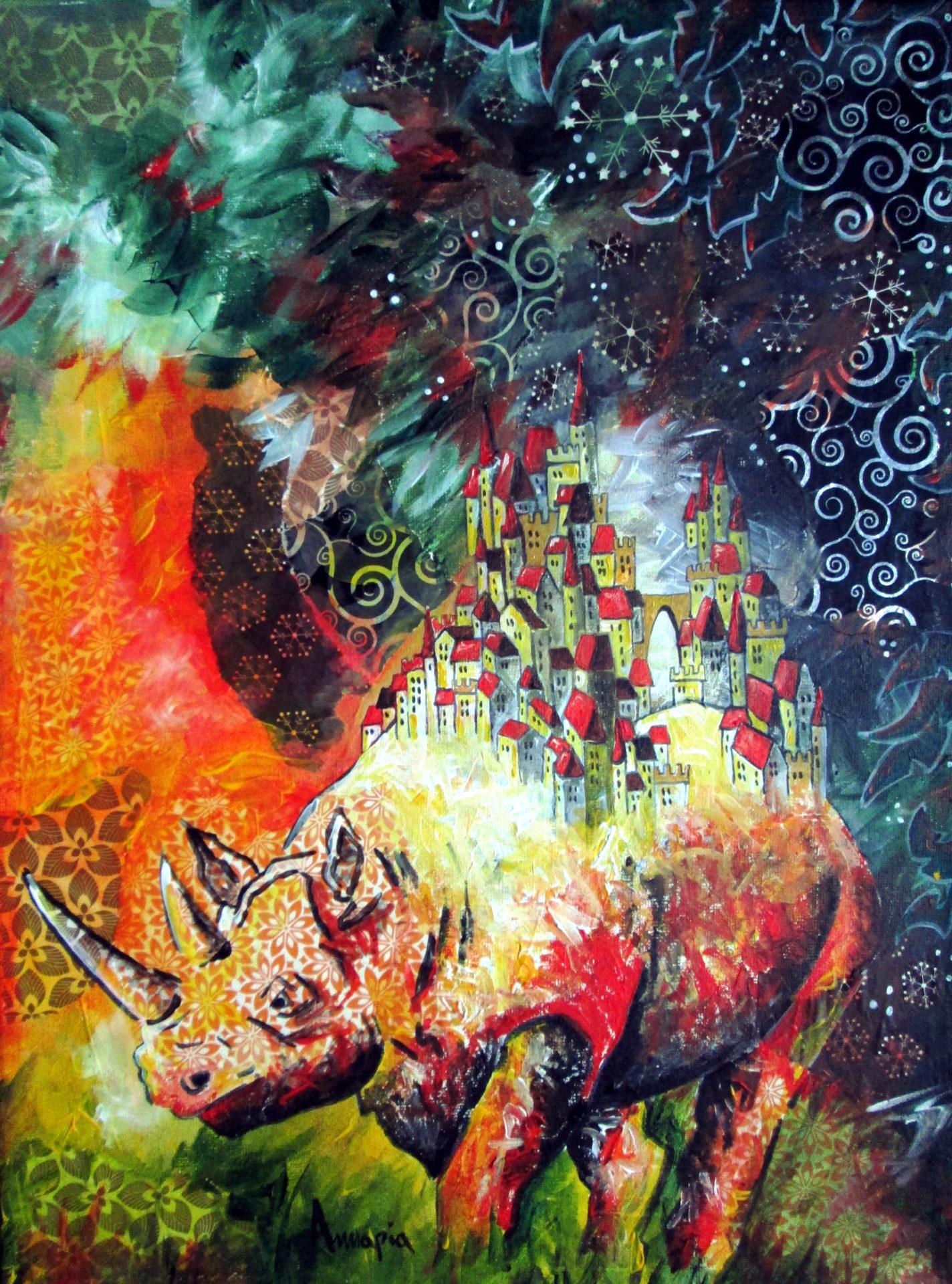 tableau surréaliste onirique poétique città invisibili Calvino
