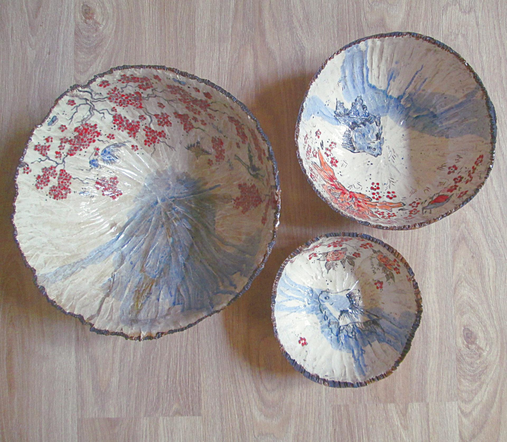 saladier grès céramique poterie