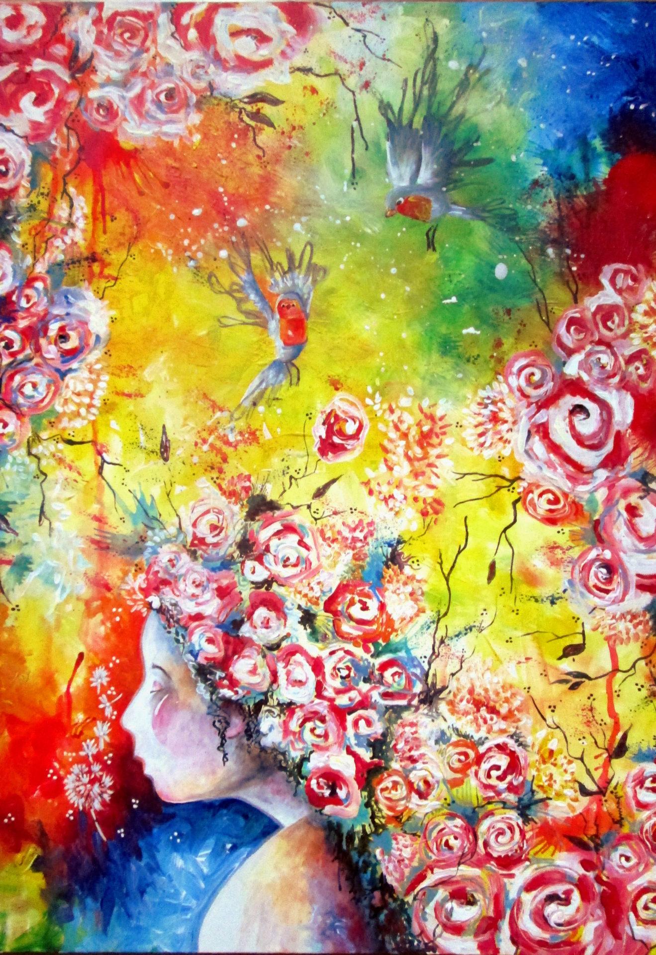 printemps primavera tableau painting quadro
