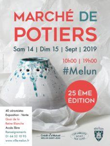 Marché de Potiers, Céramique sur Seine, Melun, France