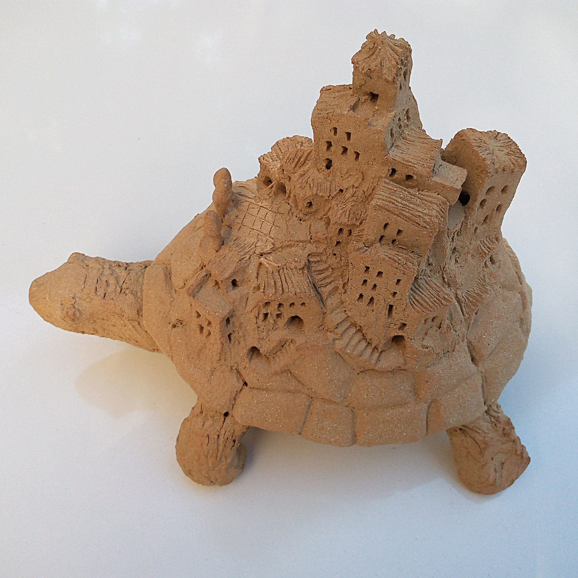 sculpture céramique tortue ceramic turtle tortoise