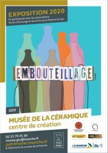 emboutillage musée de la céramique Ger Normandie